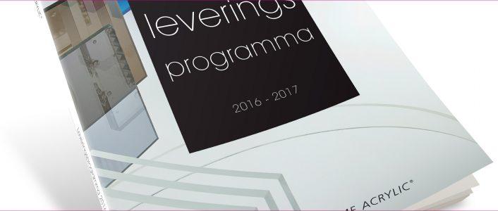 Leveringsprogramma 2016-2017