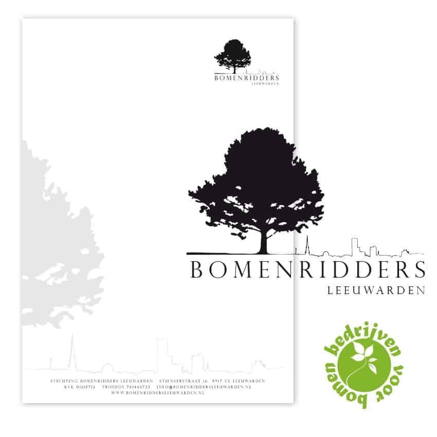 Ontwerp logo Bomenridders Leeuwarden