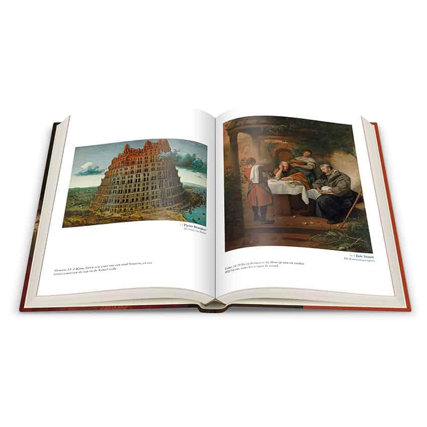 Ontwerp katernen 'Bijbel met Hollandse meesters'