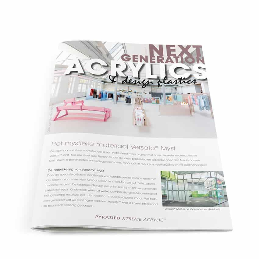 Ontwerp Next generation acrylics 2017