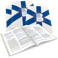 Ontwerp cover en binnenwerk brochure 'Bible Within Reach'
