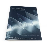 Ontwerp brochure 'Light diffusers'