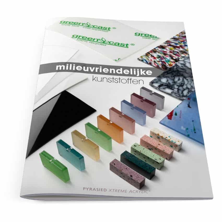 Ontwerp brochure 'Milieuvriendelijke kunststoffen'