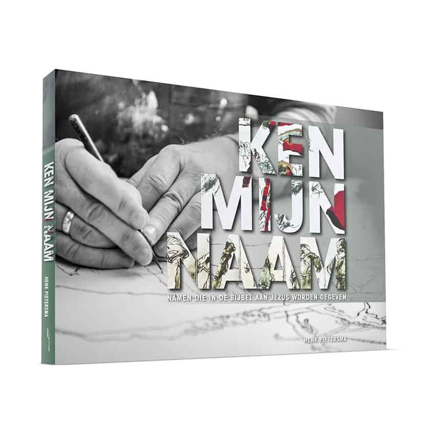 Ontwerp cover 'Ken mijn naam'