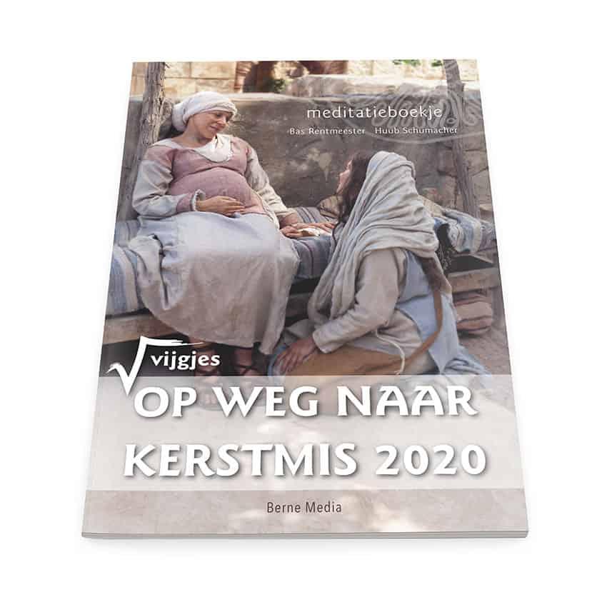 Ontwerp cover 'Op weg naar kerstmis 2020'